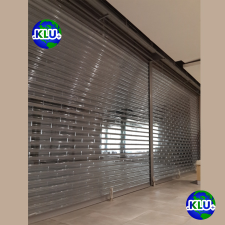 Jual Rolling Door Polycarbonate Indonesia