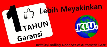 Rolling Door  Indonesia Garansi 1 Tahun