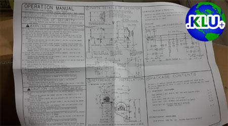Shinsei Seiki Operation User Manual