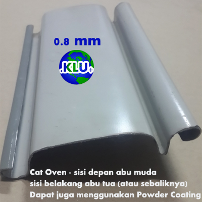 jual rolling door 0.8 mm Indonesia